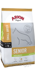 ARION  Original Senior Small Breed 7,5kg kurczak-ryż